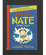 Big Nate Strikes Again, Lincoln Peirce 2010 First Edition Paperback Book - $5.00