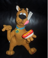 1998 Hanna-Barbera Scooby Doo With Vinyl Hotdog 12 Inch Stuffed Toy - $19.99