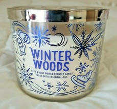 Bath & Body Works - Winter Woods - 3 Wick Scented Candle - $33.32