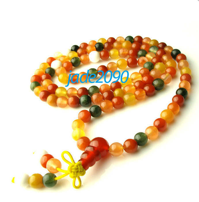 Primary image for Free Shipping - Tibetan Buddhism Handcrafted natural Colorful jade meditation ya