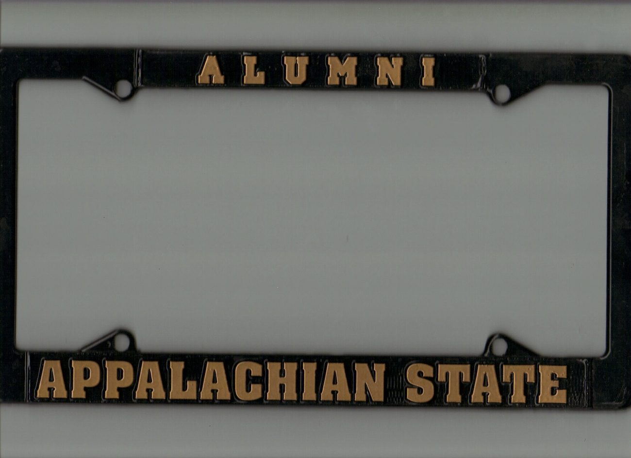 Appalachian State University 3-time National Champions Tag and Holder