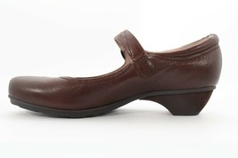Abeo Nadine Mary Jane Pumps Brown Size 7.5 Neutral Footbed ( EPB )4739 - $80.00