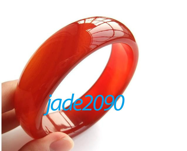 Primary image for Free Shipping - Natural red agate / Carnelian charm bangle custom size diameter