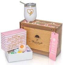 I Love You Gift Set: Organic Lush Bath Bomb Set, Heart Tumbler, And Bookmark Gif - $66.44