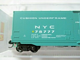Micro-Trains # 03200520 New York Central 50' Standard Boxcar Plug Door N-Scale image 2