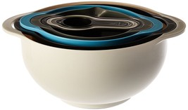 Vesper's Kitchen Stackable Mixing Bowl Set Nesting Bowls w/ Measuring Cups - $381,69 MXN