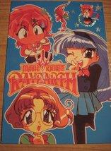 RARE Magic Knight Rayearth Holofoil Prism Accent Star Chibi Postcard! - $33.79
