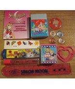 RARE Sailor Moon Stars Korea Mini Book Erasers Ruler MKR HK Lead Sticker... - $89.99