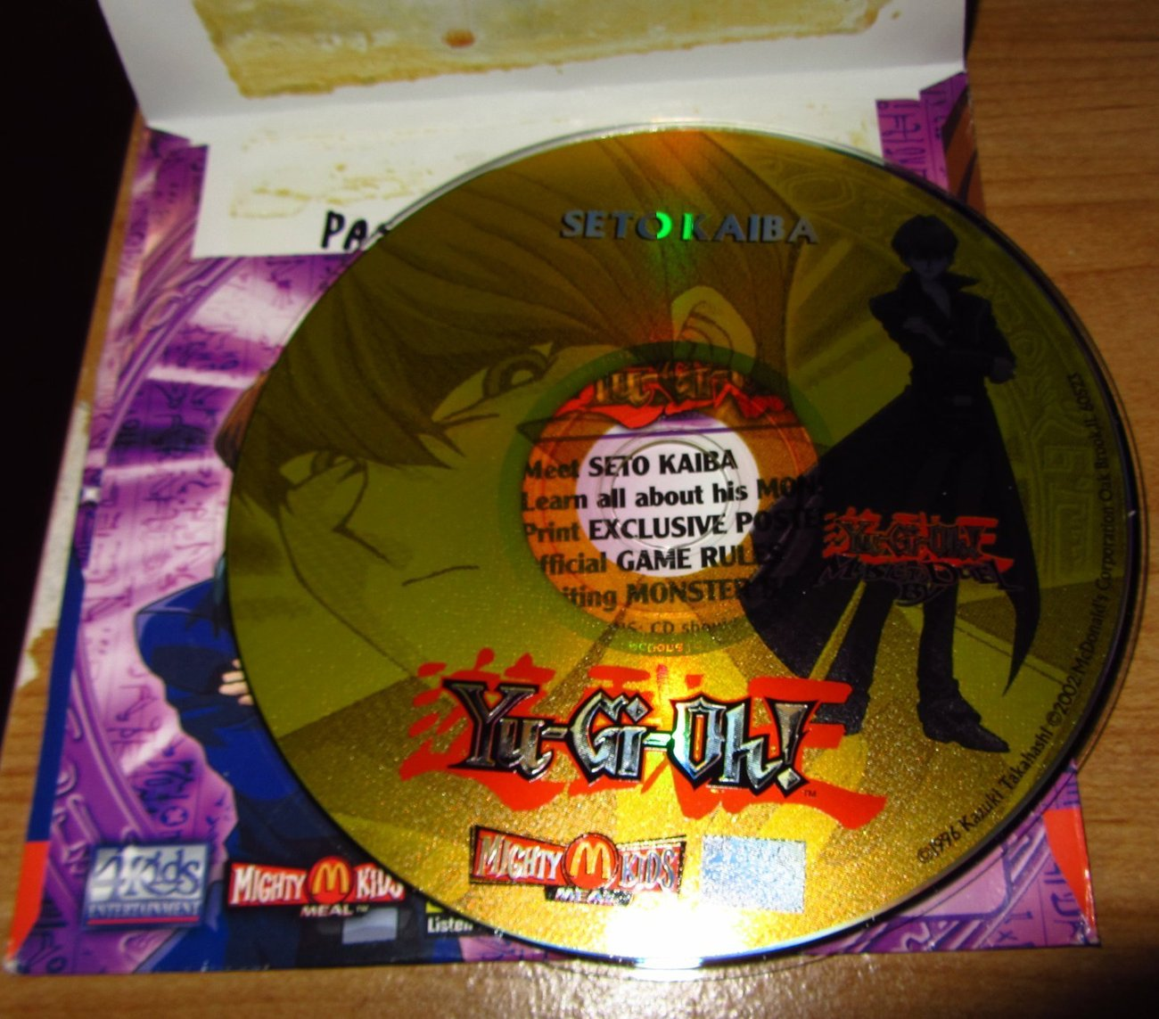 RARE Yugioh McDonald PC Game CD ROMs Set