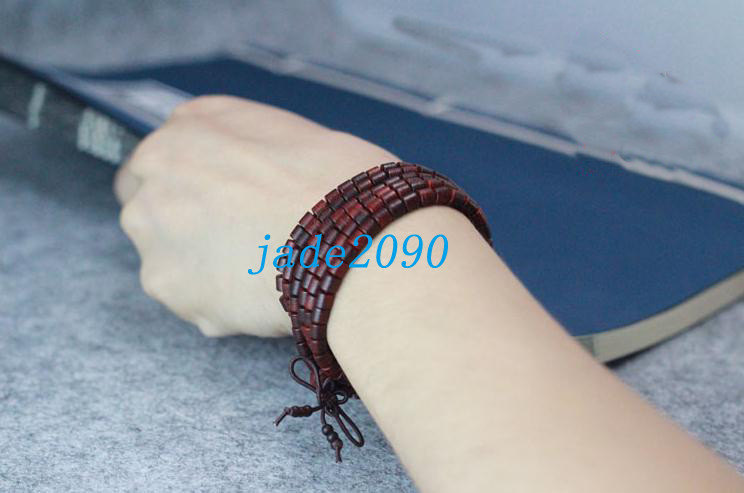 Primary image for Free Shipping -  10 mm Tibetan Buddhism Real 100% Natural red sandalwood meditat