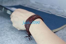Free Shipping -  10 mm Tibetan Buddhism Real 100% Natural red sandalwood meditat - $19.99