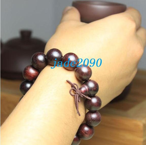 Primary image for Free Shipping - good luck Tibetan Buddhism Real Natural Red sandalwood meditatio