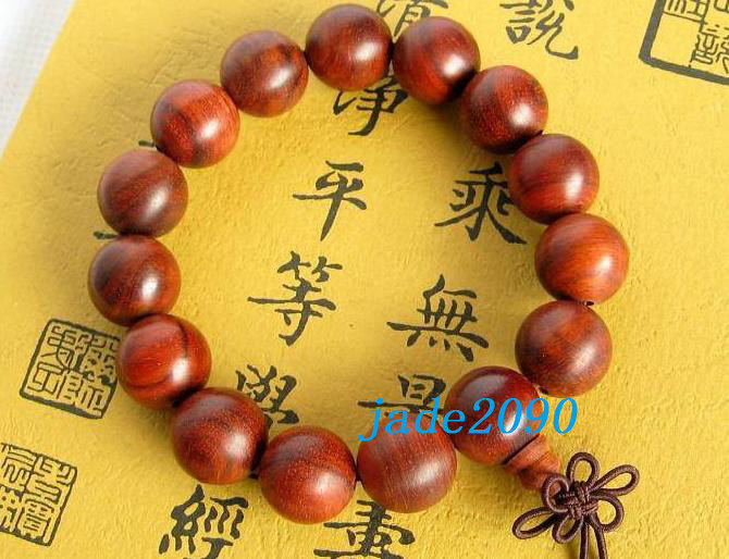 Primary image for Free Shipping - good luck Tibetan Real Natural red sandalwood meditation yoga Pr
