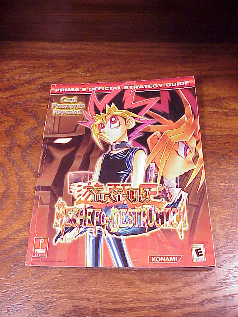 Primary image for Yu-Gi-Oh Reshef of Destruction Prima Strategy Guide Book, Game Boy Advance, GBA
