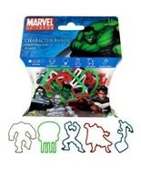 Marvel Characters Set Hair Rubber Bandz - $7.99