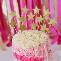 Perfec SYNCHKG107800 Twinkle Twinkle Little Star Birthday Cupcake Toppe... - $20.06