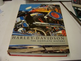 Harley-Davidson the Complete History Hard cover book - $19.31
