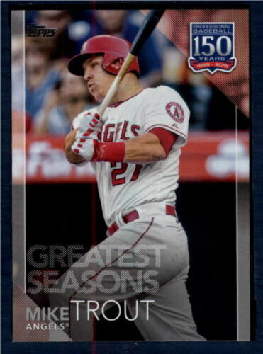2019 Topps 150 Years of Professional Baseball #150-132 Mike Trout NM-M ID:163603