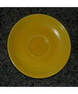 "Vintage Fiesta Ware Fiestaware Saucer Original Yellow 6"" diameter Homer ... - $12.00"