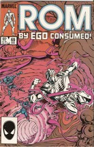ROM: Spaceknight #69 August 1985 [Comic] by Bill Mantlo; Steve Ditko - $7.99