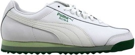 Puma Roma PFTS White/Amazon-Reed 344615 02 Women's SZ 8 - $52.65