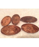 Dolphins, Manatee, Walrus, Shamu SeaWorld Lot Of 5 Pressed Pennies from ... - $12.95