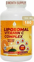 Vitamin C 1500mg Liposomal Pure Fat Soluble Ultra High Absorption 3 Month Supply - $17.81