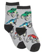 FOOZYS Unisex Kids Socks-Two Pairs-Monster Trucks-Children's Socks Ready... - $9.95