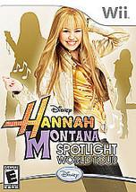 Hannah Montana: Spotlight World Tour (Nintendo Wii, 2007)M - $5.23