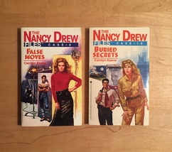 1980s Nancy Drew Files Mystery Books by Carolyn Keene image 6