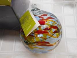 2005 Kitras 6 Inch Art Glass November Birthday Wish Ball - $22.50