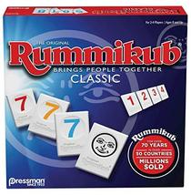 Rummikub by Pressman - Classic Edition - The Original Rummy Tile Game, Blue - $14.29