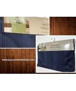 "Blue Table Runner Microfiber Stripe Fabric 14"" x 70"" - $9.99"