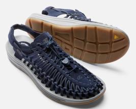 Keen Uneek Ltd Größe US 9 M (D) Gr.42 Herren Sport Sandalen Schuhe Oberteil Blau