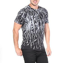Diesel T-shirts T-Neza Graphic Men Black New - $91.14