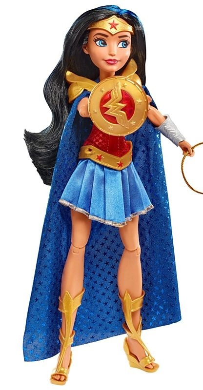 "SDCC 2017 DC Super Hero Girls Wonder Woman & and Cheetah Doll WW ONLY 12"" Mattel"