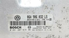 98-05 Volkswagen Beetle Turbo-S 1.8T 6spd Engine Computer ECU ECM 06A906032LS image 5