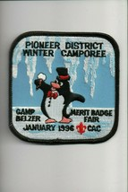 1996 CAC Camp Belzer Merit Badge Fair Winter Camporee Pioneer District p... - $5.94