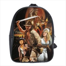 School bag 3 sizes indiana jones indy the temple of the doom - $39.00+