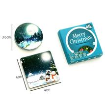 Winter Merry Christmas Sticker Xmas Gift Box Decoration Party Supplies Diy - $1.71