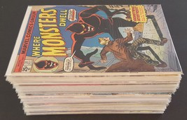 Lot Of 50 Marvel Comic Books | NO DOUBLES - Lot #7 - $50.00