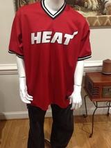 (Sale) Miami Heat #32 Shaquille O'Neal Sz XL Majestic Basketball Jersey ... - $19.95