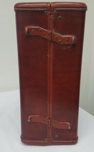Vtg Samsonite Shwayser Brothers Hard Case Dark Brown Small Suitcase 19 NO KEY