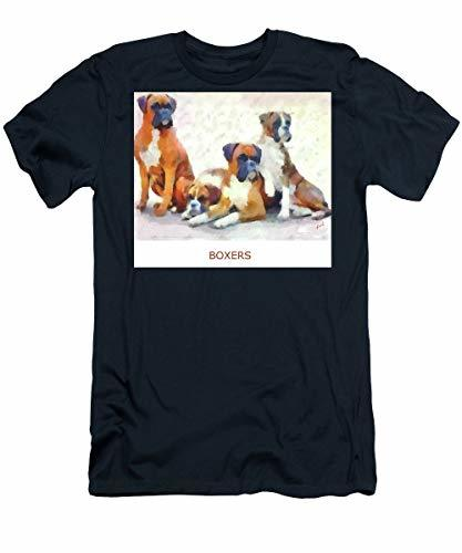 Primary image for Boxer Quartet - T-Shirt - Navy/Small