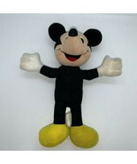 "Vintage Playskool Disney Mickey Mouse 12"" Plush Toy Stuffed Animal No Pa... - $9.40"