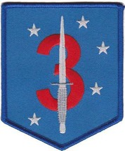 USMC 3rd Raider Battalion Color Patch NEW!!! - $1,000.00