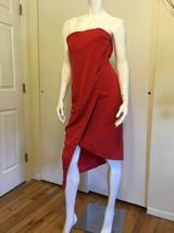 Keepsake- Red Strapless Visionary Dress Sz XS - $74.25