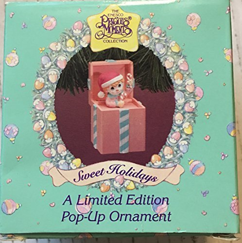 Primary image for Precious Moments 1994 Pop up Christmas Ornament