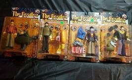 1999 Mcfarlane The Beatles Yellow Submarine 4 Figure Set Paul John RARE - $84.15