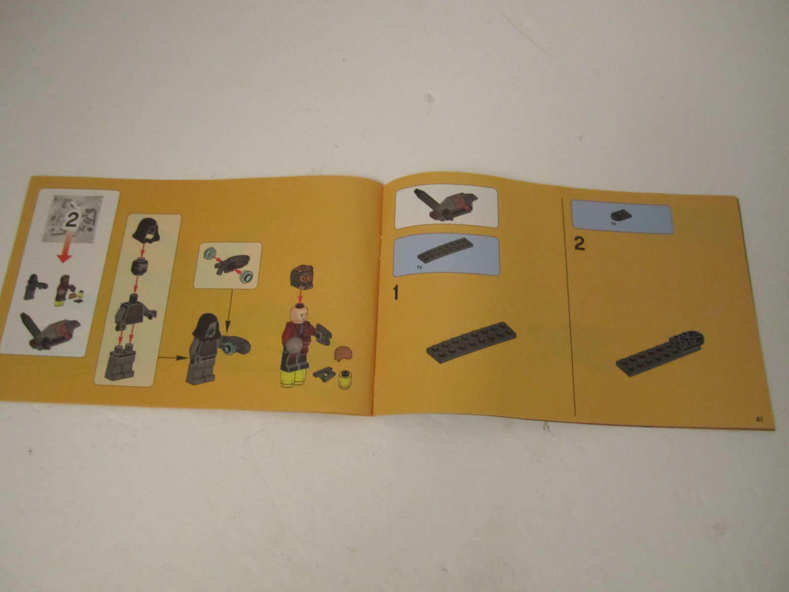 Lego Instruction Manual Only 76019 Marvel Super Heroes Guardians of the Galaxy image 2